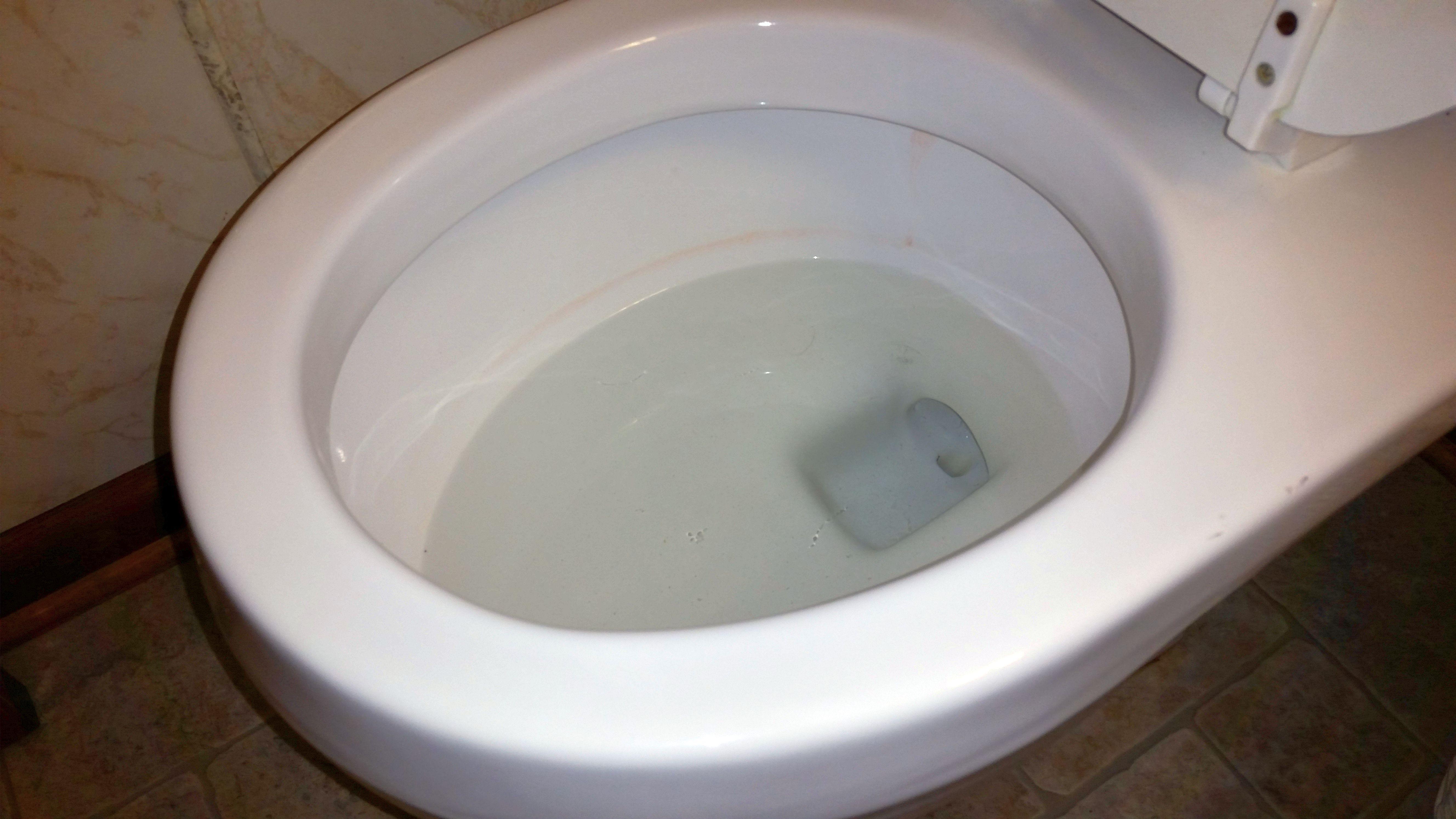 Bathroom toilet bowl
