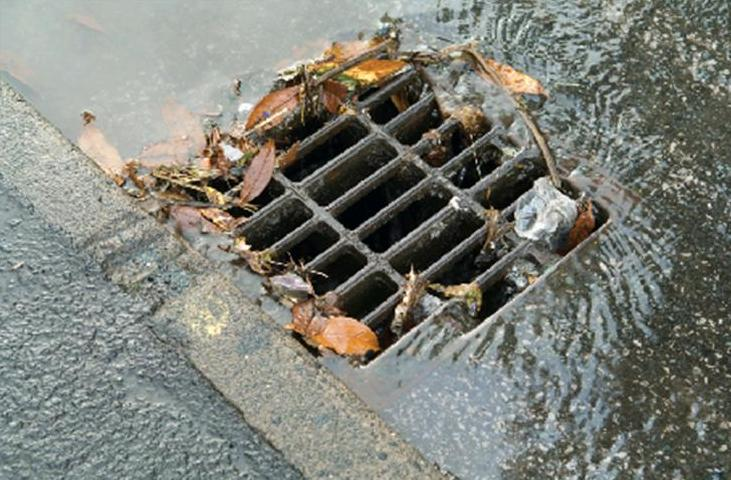 Spring rains and stormwater drains henderson water utility for Rainwater drain problems